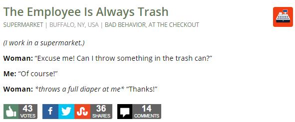 The Employee Is Always Trash