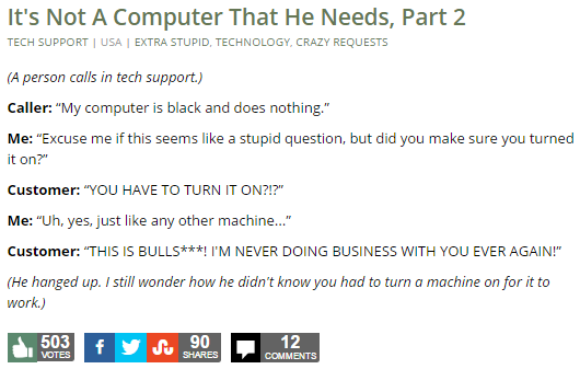 It's Not A Computer That He Needs, Part 2