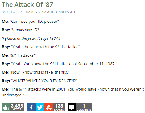 The Attack Of '87